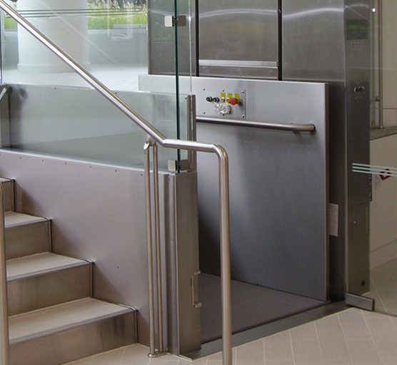 Custom Made, This Wheelchair Lift Is Perfect For Luxury Hotels, Convention  Centers, Sophisticated Facilities, And Other High End Commercial And  Residential ...