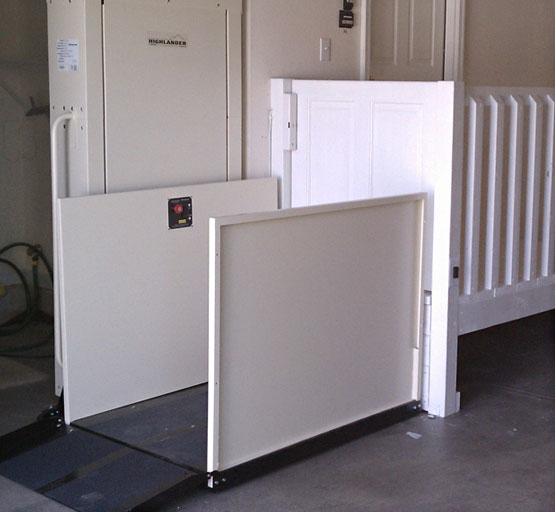 Apex Green - Vertical Wheelchair Lift, Apex Green Vertical