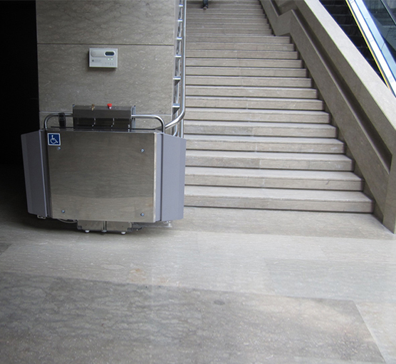 Omega IPL Multilevel Inclined Platform Wheelchair Lifts ...