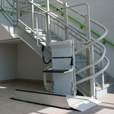 Omega IPL Multilevel Inclined Platform Wheelchair Lifts